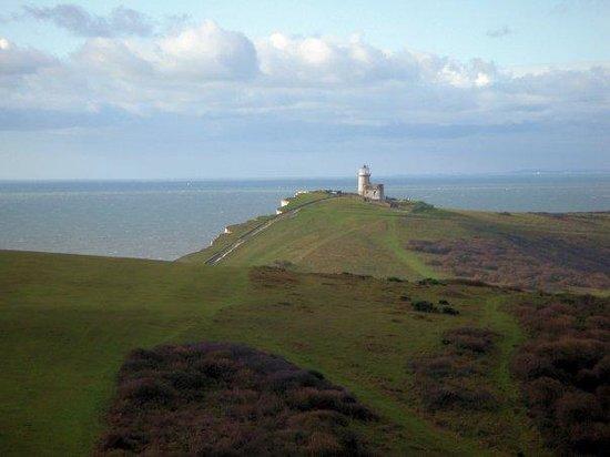 South Downs National Park: Lighthouse near Beachy Head