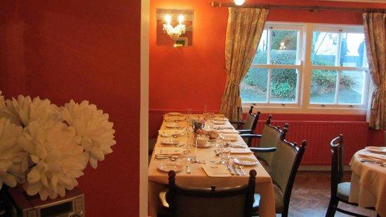 Ballyknocken House: Dining room