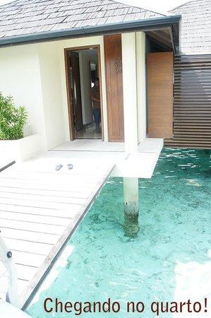 Paradise Island Resort & Spa: Entrada do quarto