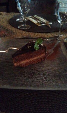 La Boca Restaurant : Chocolate cake
