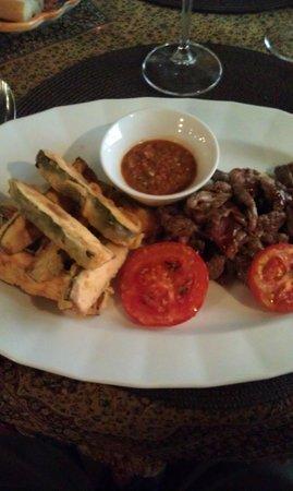 La Boca Restaurant : Argentine Beef Dish