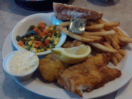 Chippewa family Restaurant : Beer battered cod