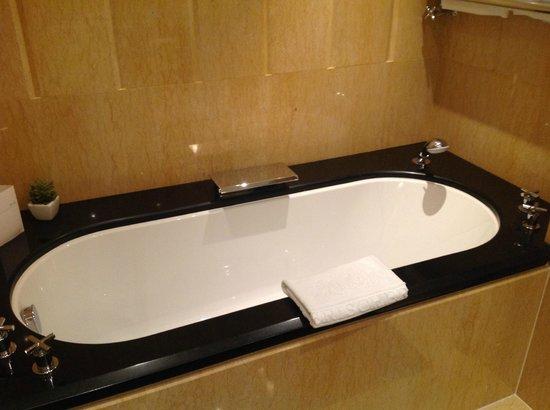 Bayerischer Hof Hotel: Badewanne