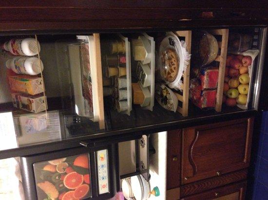Cittadella Bed & Breakfast: Il frigo della cucina!