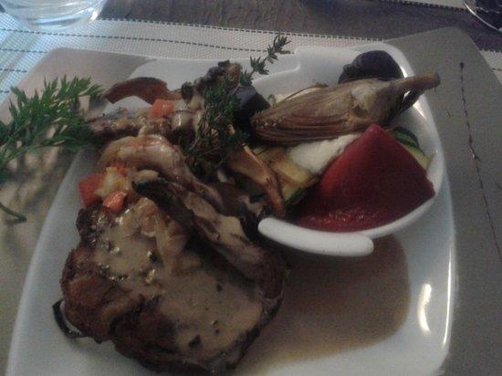 Chez Philippe : agneau confit