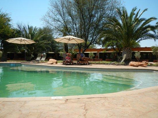 Kalahari Anib Lodge: Pool is great