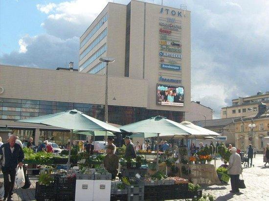 Original Sokos Hotel City Börs: Вид на отель со стороны Кауппатори