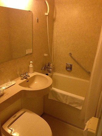 the b tokyo akasaka-mitsuke: 浴室
