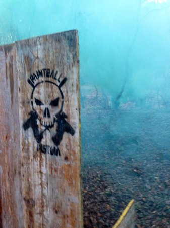 Paintball Pistoia A.s.d.: Il campo