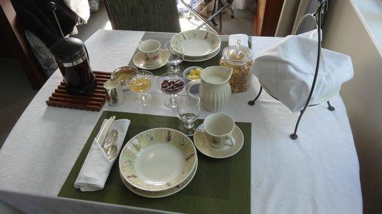 Hillsfield House Bed and Breakfast Marlborough: Brekkie