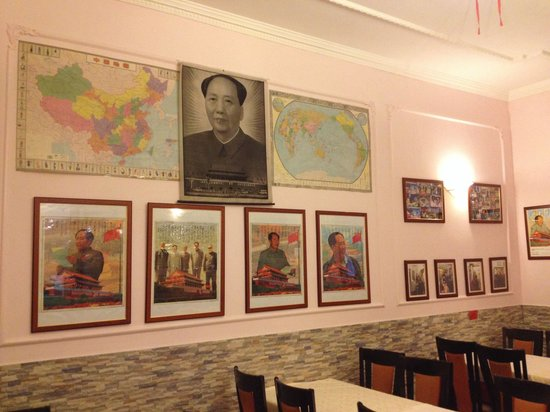 Hang Zhou: The Chairman Mao room will inspire you to finish your food