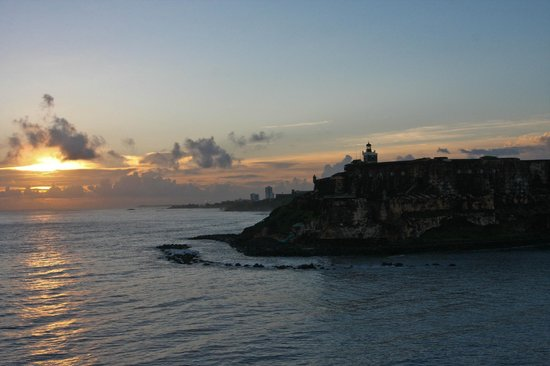 Castillo de San Cristobal at Sunrise
