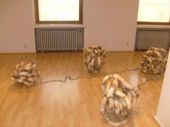 Aboa Vetus & Ars Nova : Современное финское искусство.  Выставки меняются.
