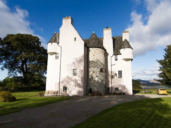 Barcaldine Castle: Ansicht Zufahrt