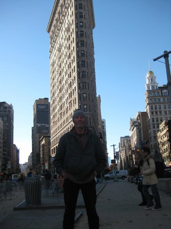 Howard Johnson Manhattan Soho : Just me and that old Flat Iron