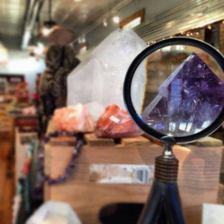 Crystal Mountain Gem Mine : Really cool shop!