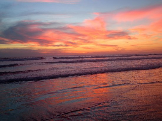 Surf With Amigas- Women's Surf and Yoga Retreat: A Nicaraguan sunset