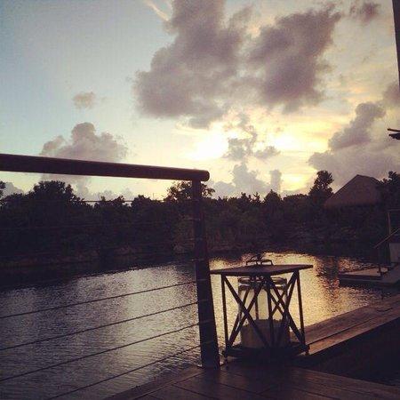 Rosewood Mayakobá: View from plunge pool in overwater lagoon suite