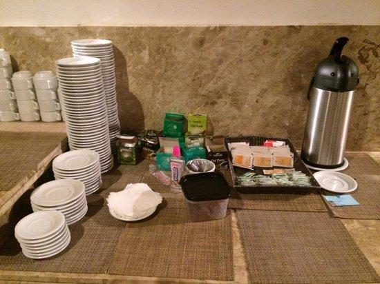Resort La Torre: A mesa de chá para 250 quartos (para 4 pessoas)