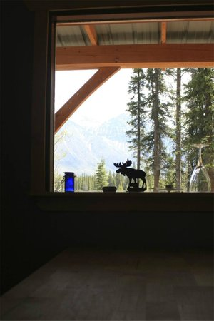 Wheaton River Wilderness Retreat: the view from the inside