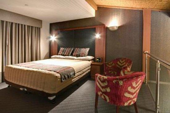 Arkaba Hotel: Loft suite - Mezzanine bedroom