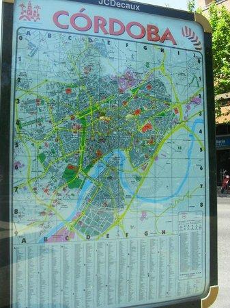 Pensión El Portillo: mapa de Córdoba