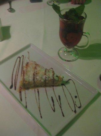 Restaurante La Regatta : pastel de coco