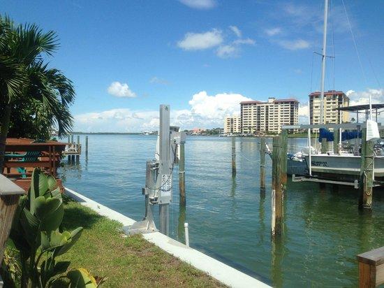 Five Palms Condominium Resort: View rom the dock