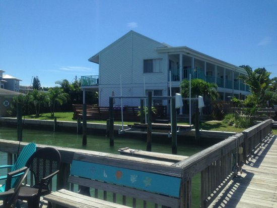 Five Palms Condominium Resort: Dock