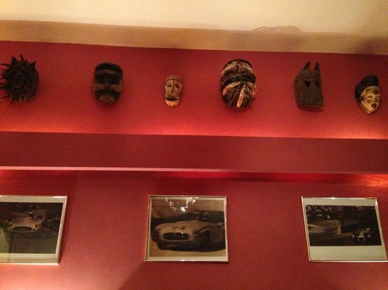 The Cloudesley: Mask collection in lounge 1