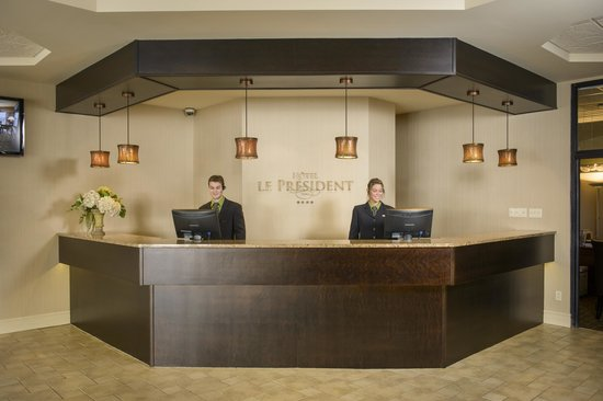 Hotel Le President : Réception