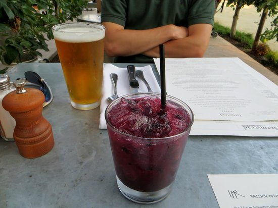 Farmstead at Long Meadow Ranch : blackberry spritzer - VERY strong!