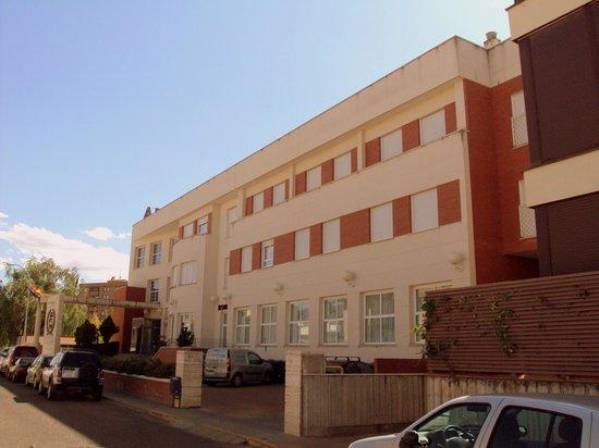 Hotel Roma Aurea: Fachada principal.