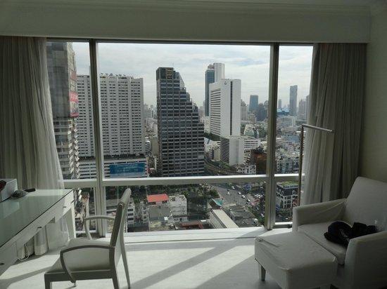 Pullman Bangkok Hotel G: Chambre avec vue