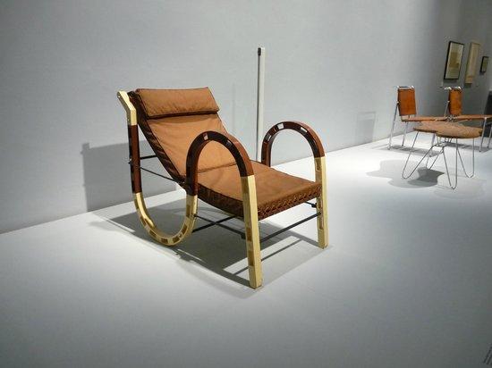 Irish Museum of Modern Art (IMMA): Eileen Gray Chair