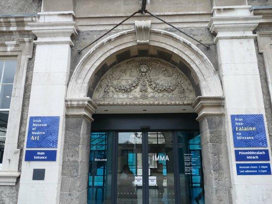 Irish Museum of Modern Art (IMMA) : Entrance