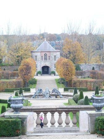 Irish Museum of Modern Art (IMMA) : View over the formal gardens towards the Phoenix Park