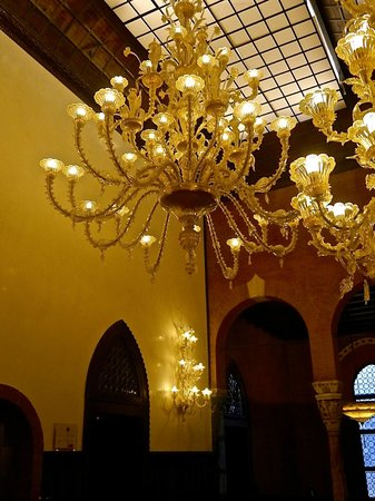 Hotel Palazzo Stern: Lobby area Second Floor