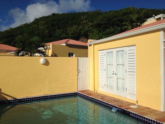 Villa Madeleine Resort Condominium : Private pool