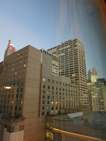 Homewood Suites by Hilton Chicago Downtown : 窓から