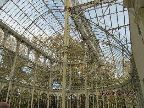 Palacio De Cristal: Visão interna