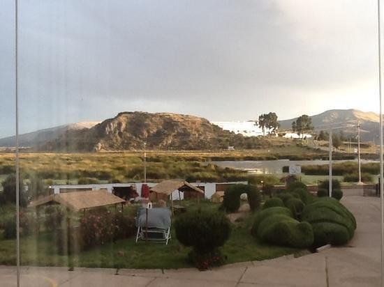 Eco Inn Puno Titicaca Lake: vue de ma chambre