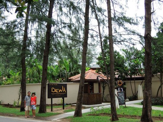 Cachet Resort Dewa Phuket - Nai Yang Beach: This was across the road from Naiyang Beach
