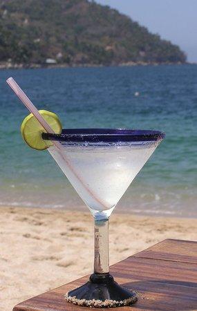 Coco Bar Restaurant : Margarita with a view