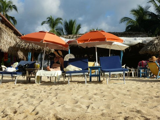 Coco Bar Restaurant : View from the ocean