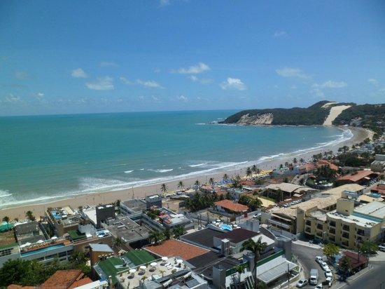 Quality Hotel & Suites Natal: Visão do meu quarto para a praia