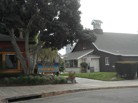 Seaport Village: The style of the buildings