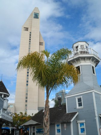 Seaport Village: The style of buildings