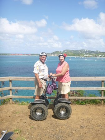 Segways for sure-easy and fun