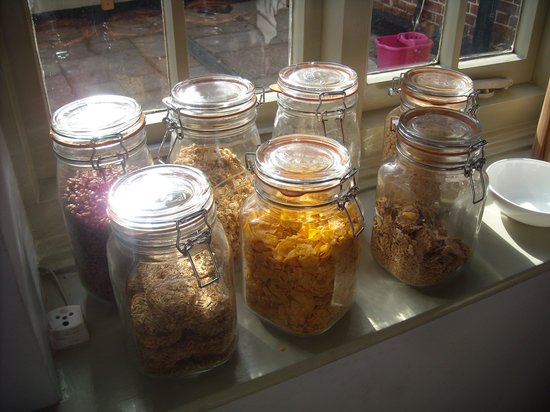 The Coach House: self-serve breakfast ingredients